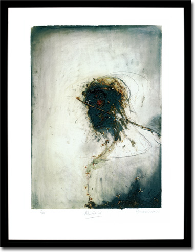 Peter Gabriel - Passion, Album Cover. Framed Print