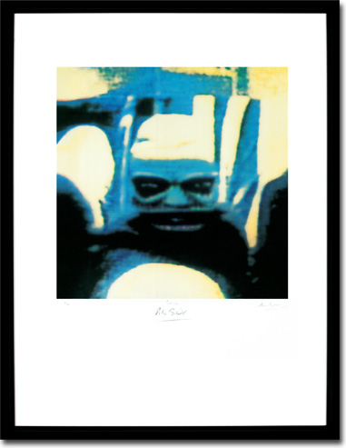 Peter Gabriel 4 - Security, Album Cover. Framed Print