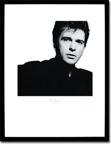 Peter Gabriel - So, Album Cover. Framed Print