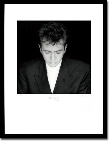 Peter Gabriel - Shaking The Tree, Album Cover. Framed Print